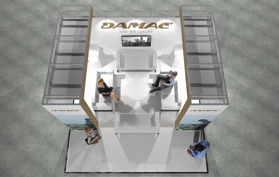 5m x 5m Modular Exhibition Stand - 4