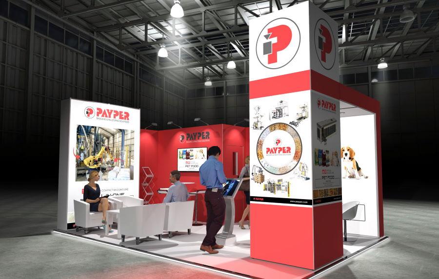 6m x 4m Modular Exhibition Stand - 1