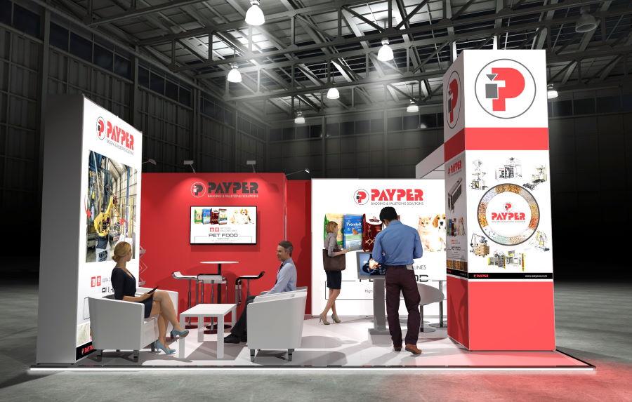 6m x 4m Modular Exhibition Stand - 2