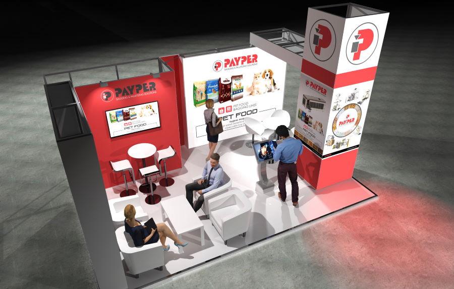 6m x 4m Modular Exhibition Stand - 3
