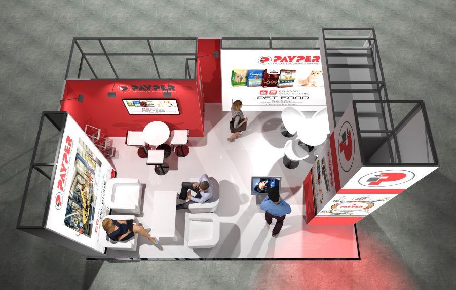 6m x 4m Modular Exhibition Stand - 4