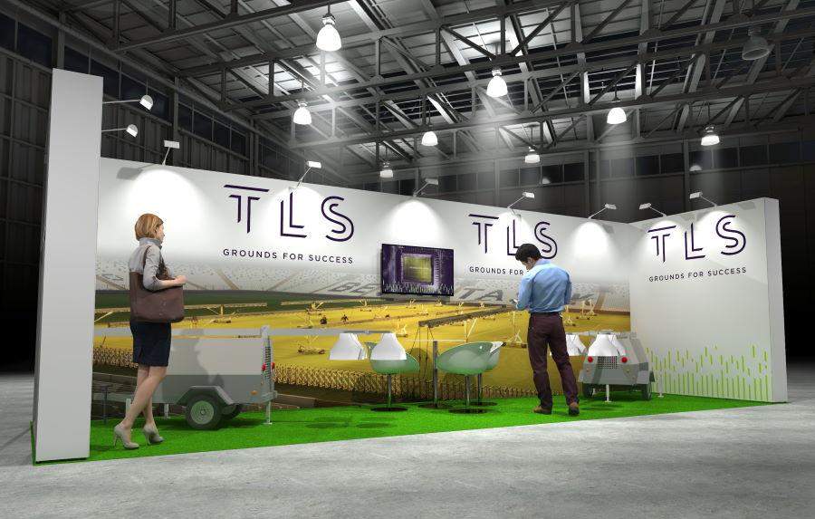 8m x 2.5m Modular Exhibition Stand - 1