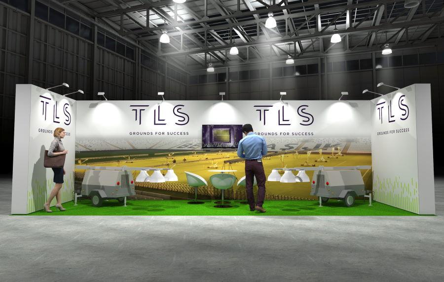 8m x 2.5m Modular Exhibition Stand - 2