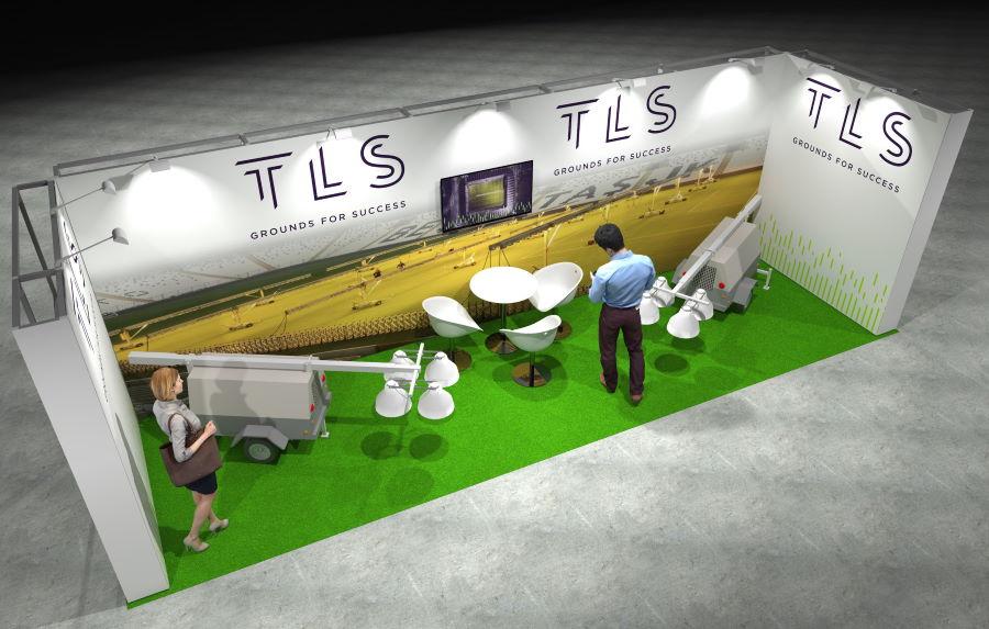 8m x 2.5m Modular Exhibition Stand - 3