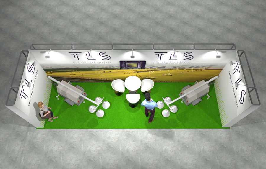 8m x 2.5m Modular Exhibition Stand - 4