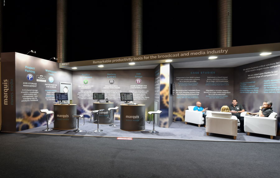 10m x 3m exhibition stand at IBC