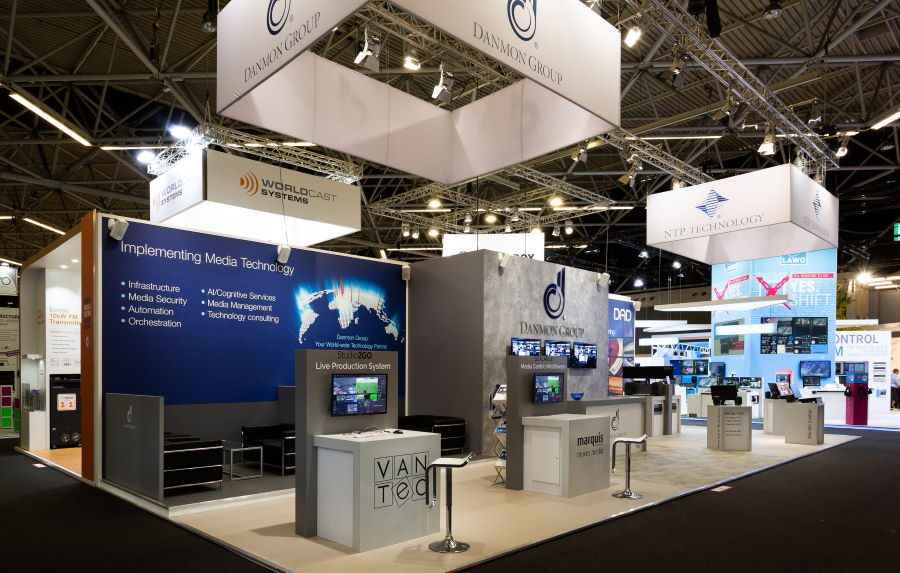 16m x 6m exhibition stand at IBC - 3