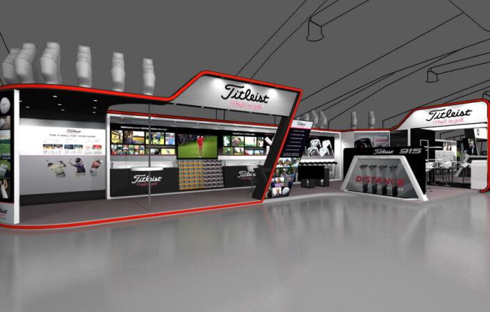 30m x 6m exhibition stand design