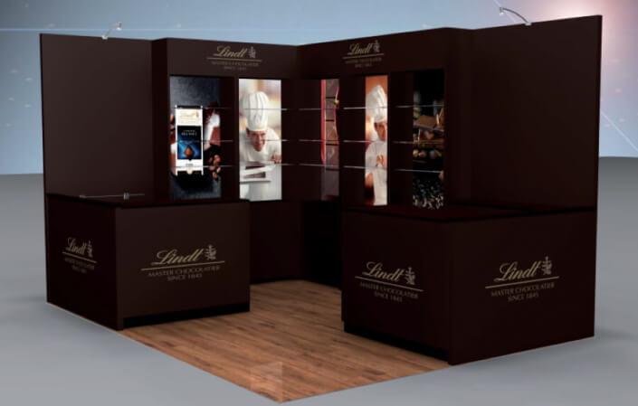 4m x 3m exhibition stand design