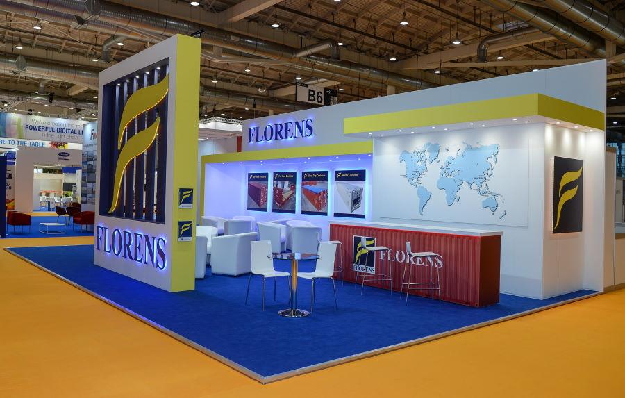 11m x 7m exhibition stand at Intermodal - 2