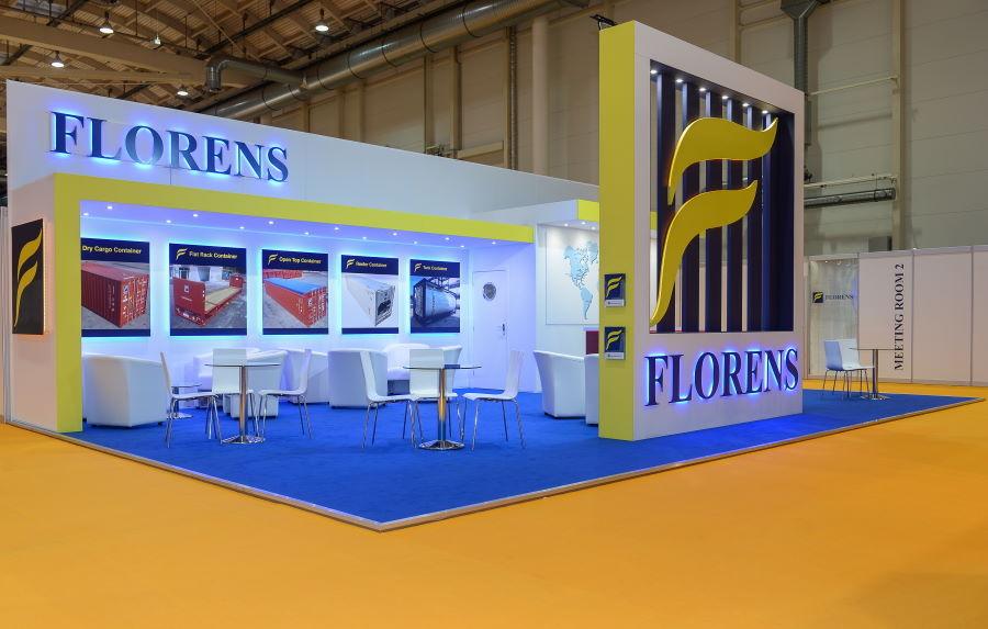 11m x 7m exhibition stand at Intermodal