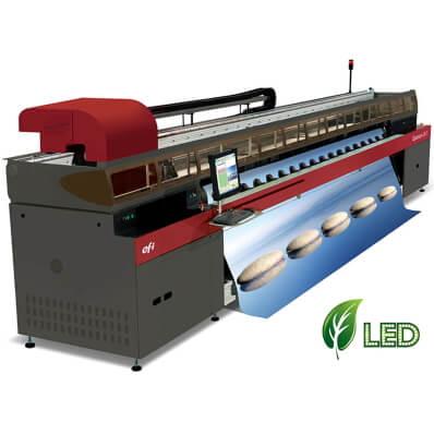 5m Wide Roll fed high quality printing with X Y cutting