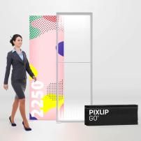 850mm x 2250mm PIXLIP GO Fabric Lightbox
