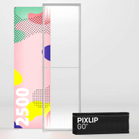 850mm x 2500mm PIXLIP GO Fabric Lightbox