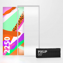 1000mm x 2250mm PIXLIP GO Fabric Lightbox