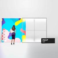 2000mm x 2000mm PIXLIP GO Fabric Lightbox
