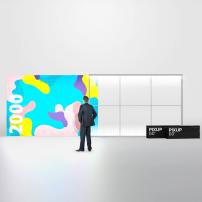 3000mm x 2000mm PIXLIP GO Fabric Lightbox