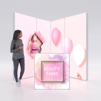 Lightbox exhibition stand EL2020 - PIXLIP GO