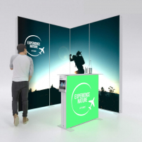 Lightbox exhibition stand ES2020 - PIXLIP GO