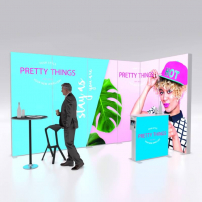 Lightbox exhibition stand ES4020 - PIXLIP GO
