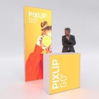 Lightbox exhibition stand HL10 - PIXLIP GO