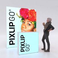 Lightbox exhibition stand HL20 - PIXLIP GO