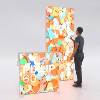Lightbox exhibition stand HS10 - PIXLIP GO