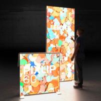 Lightbox exhibition stand HS10 - Dark - PIXLIP GO