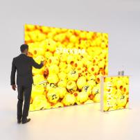 Lightbox exhibition stand HS30 - PIXLIP GO