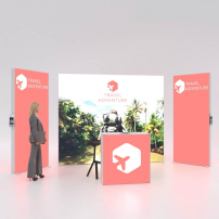 Lightbox exhibition stand RL5020 - PIXLIP GO