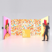 Lightbox exhibition stand RL5030 - PIXLIP GO