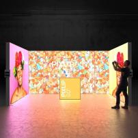 Lightbox exhibition stand RL5030 - Dark - PIXLIP GO