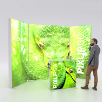 Lightbox exhibition stand RS3010 - PIXLIP GO