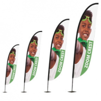Zoom+ Crest Flag range