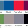 Loop nylon colour swatch