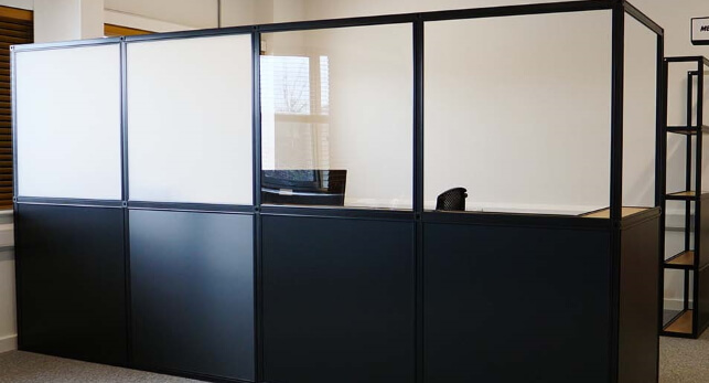 Office temporary partition