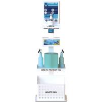 Freestanding Premium Sanitising Station
