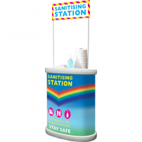 Premium Sanitising Station Counter