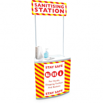 Sanitising Station Counter