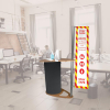 Comet Sanitising Station Counter in Office