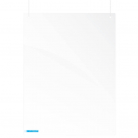 Hanging protection screen - 1200 x 900mm