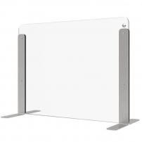 Desk protection screen - 680mm (w) x 515mm (h)