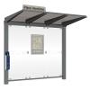 Pressgel outdoor sanitising station - wall mount in situ 3