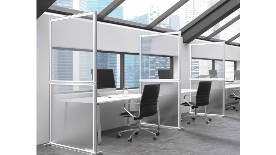 Office protection screens 6