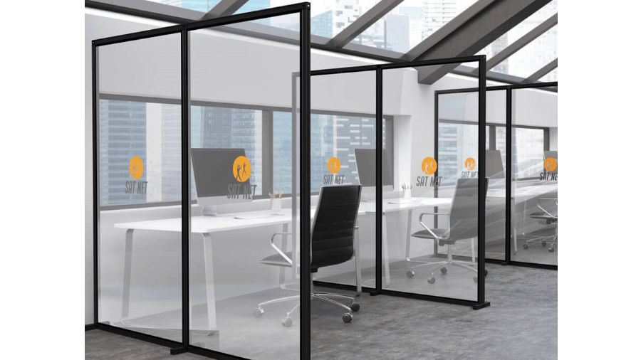 Office protection screens 7