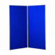 2 panel large display boards - Grey PVC frame with Royal Blue Nyloop