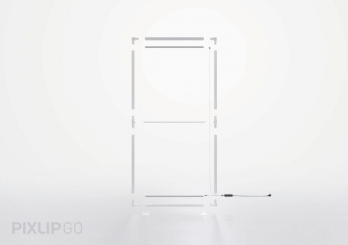 Easy to assemble lightbox exhibition stand - PIXLIP GO