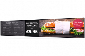 Hospitality digital signage displays