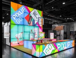 PIXLIP GO exhibition stands