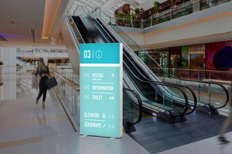 Standalone retail or showroom unit - PIXLIP GO Lightbox Display